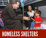 Homeless Shelters & Soup Kitchens